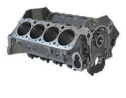 DART #31161111 SBC SHP Iron Block - 9.025 4.000/350