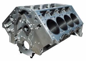 DART #31937211 LS Alm. Block - 9.240/ 4.125 w/Steel Main Caps
