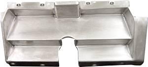 DETROIT SPEED ENGINEERING #010401V Dash Insert - '69 Camaro w/o Stock Heater Control