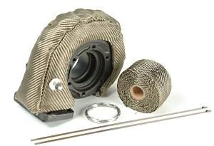 DESIGN ENGINEERING #10141 Turbo Insulation Kit Carbon Fiber Look