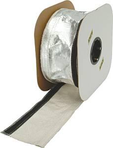 DESIGN ENGINEERING #10405 Heat Shroud (Alum.Sleeve w/Velcro-1in I.D.x36in)