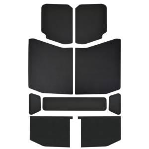 DESIGN ENGINEERING #50172 Jeep JL 4 DR 18-   Headl iner Kit Black Leather