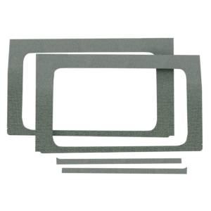DESIGN ENGINEERING #50174 Jeep JL 4 DR 18-   Side Window Gray 4pc