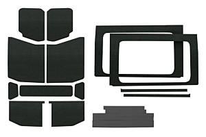DESIGN ENGINEERING #50178 Jeep JL 4 DR 18-   Headl iner Kit Black 13pc Com