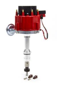 PERFORMANCE DISTRIBUTORS #318211RD Racing Distributor SBF 302W Red Cap w/ Vac Adv