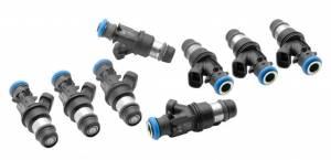 DEATSCHWERKS #35U-01-0044-8 Fuel Injectors Matched Set 450cc (44lb)