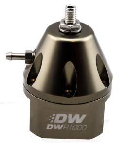 DEATSCHWERKS #6-1000-FRT Fuel Pressure Regulator Adj. Titanium Finish