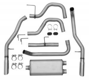DYNOMAX #39450 SS Cat Back Exhaust 05-08 Ford P/U 4.6/5.4L