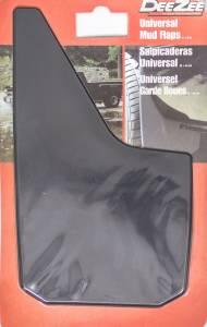 DEE ZEE #DZ 17939 Universal  Mud Flaps Black 11in x 18in