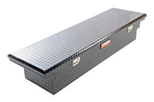 DEE ZEE #DZ 8170LB Tool Box - Red Crossover Single Lid Black