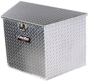 DEE ZEE #DZ 91717 Triangle Trailer Tool Box Large