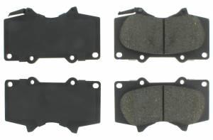 CENTRIC BRAKE PARTS #102.0976 C-TEK Semi-Metallic Brak e Pads with Shims