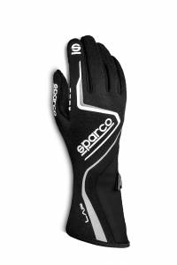 SPARCO #00131510NRBI Glove Lap Medium Black / White