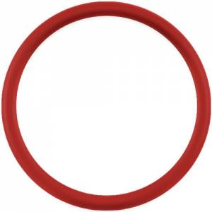 BILLET SPECIALTIES #33005 Half Wrap Ring 15.5in Red Leather