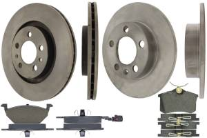 CENTRIC BRAKE PARTS #905.33067 Select Axle Pack 4 Wheel