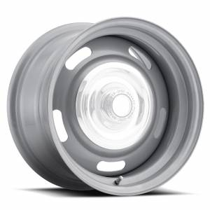 VISION WHEEL #55-5704 Wheel 15X7 5-4.5/4.75 Si lver Rally Vision