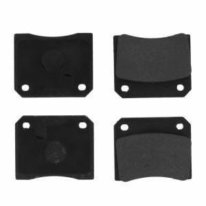 CENTRIC BRAKE PARTS #102.0009 C-TEK Semi-Metallic Brake Pads with Shims