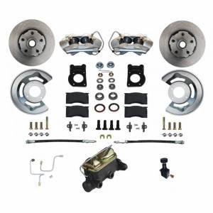 LEED BRAKES #FC0001-405 Manual Brake Conversion 65-66 Mustang