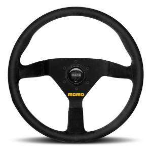 MOMO AUTOMOTIVE ACCESSORIES #R1909/33L MOD 78 Steering Wheel Black Leather