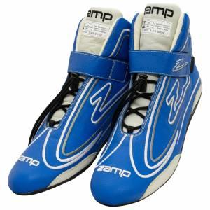 ZAMP #RS003C0410 Shoe ZR-50 Blue Size 10 SFI 3.3/5