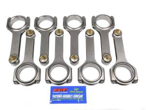EAGLE #CRS6125B3D SBC 4340 Forged H-Beam Rods 6.125