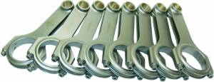 EAGLE #CRS6490F3D Ford FE 4340 Forged H-Beam Rods 6.490in