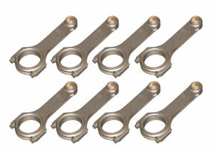 EAGLE #CRS6625P3D Pontiac 4340 Forged H-Beam Rods 6.625in