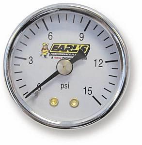 EARLS #100195ERL Fuel Pressure Gauge