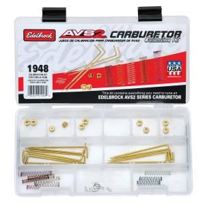 EDELBROCK #1948 Calibration Kit  AVS2 650 Series 1905 & 1906