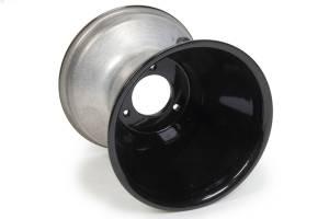 KEIZER ALUMINUM WHEELS INC #M664B QM Wheel 6x6 4bs .125 Black RF