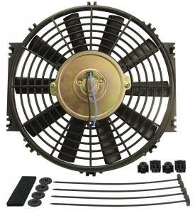 DERALE #16910 10in Dyno-Cool Straight Blade Electric Fan
