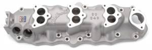 EDELBROCK #1109 49-53 Ford Flathead Triple Deuce Manifold