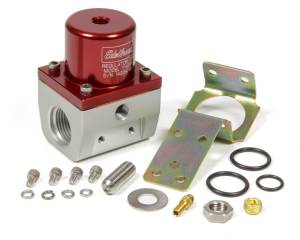 EDELBROCK #174021 Fuel Pressure Regulator EFI Style 35-90psi Red