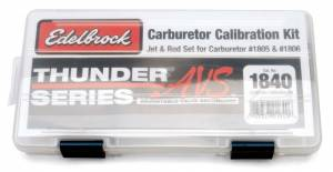 EDELBROCK #1840 Carb. Calibration Kit - Thunder Series AVS