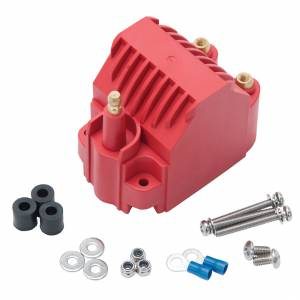 EDELBROCK #22742 Max-Fire Ignition Coil Universal Dome Style Red
