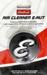 EDELBROCK #4271 Nut - Air Cleaner 2-1/8 Dia. Black Anodized