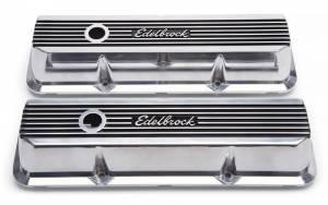 EDELBROCK #4277 BBF FE Elite II Series Valve Covers