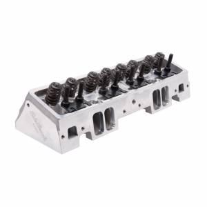 EDELBROCK #61255 SBC Victor Jr Cylinder Head 220cc A/P 64cc Assm