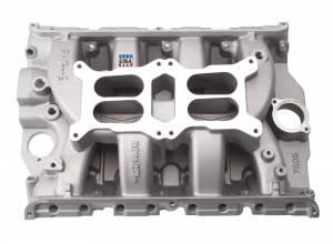 EDELBROCK #7505 Ford FE Performer RPM Dual Quad Manifold