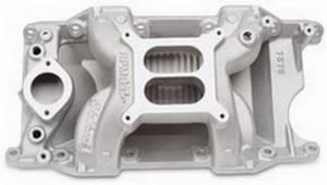 EDELBROCK #7576 SBM Performer RPM A/G Manifold - 340-360