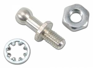 EDELBROCK #8016 Ball End Stud Kit - Ford w/Holley Carb.