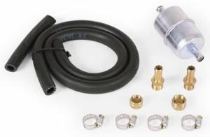 EDELBROCK #8135 3/8in Fuel Line & Filter Kit