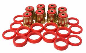 ENERGY SUSPENSION #3.3132R Gm Rr Cont Arm Bushing Set Red