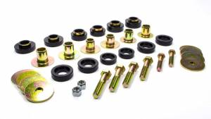 ENERGY SUSPENSION #3.4142G GM BODY MOUNT SET WITH H
