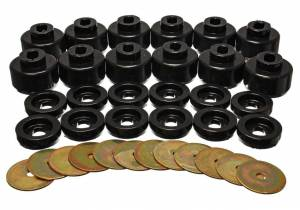 ENERGY SUSPENSION #3.4156G Body Cab Mount Set 00-06 Tahoe/Yukon 2WD
