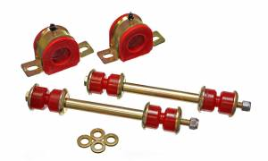 ENERGY SUSPENSION #3.5214R Front Sway Bar Bushing Set 32MM Red