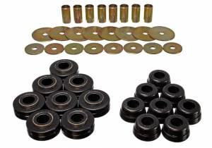 ENERGY SUSPENSION #6.4101G International Scout II Body Mount Bushings Blk