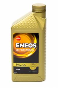 ENEOS #3251-300 Full Syn Oil 0w16 1 Qt