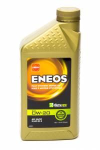 ENEOS #3701-300 Full Syn Oil Dexos 1 0w20 1 Qt