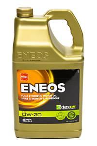 ENEOS #3701-320 Full Syn Oil Dexos 1 0w20 5 Qt